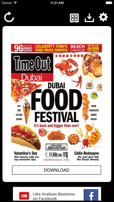Screenshot for Time Out Dubai Magazine in United Arab Emirates App Store