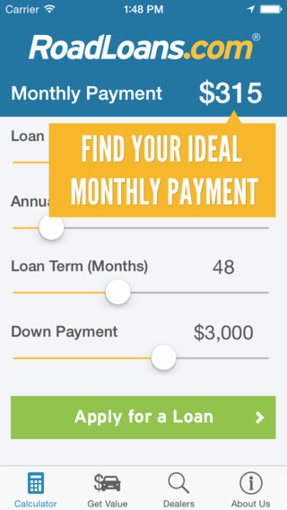 RoadLoans - Tools for Cars: Finding Buying Owning - with Loan Calculator VIN Scanner More