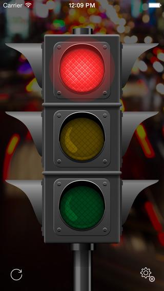 Traffic Light Wake Up Alarm Timer