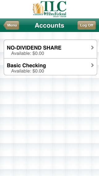 TLC Federal Credit Union Mobile Banking iPhone Screenshot 3