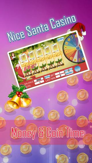 Nice Santa Casino- Money Coin Time