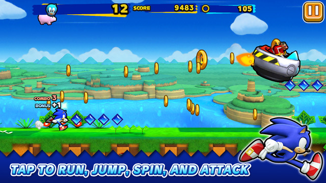 Sonic Runners iPhone iPad