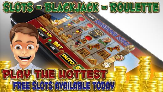 Aankhesenamon Jackpot - Slots - Roulette - 21 Blackjack