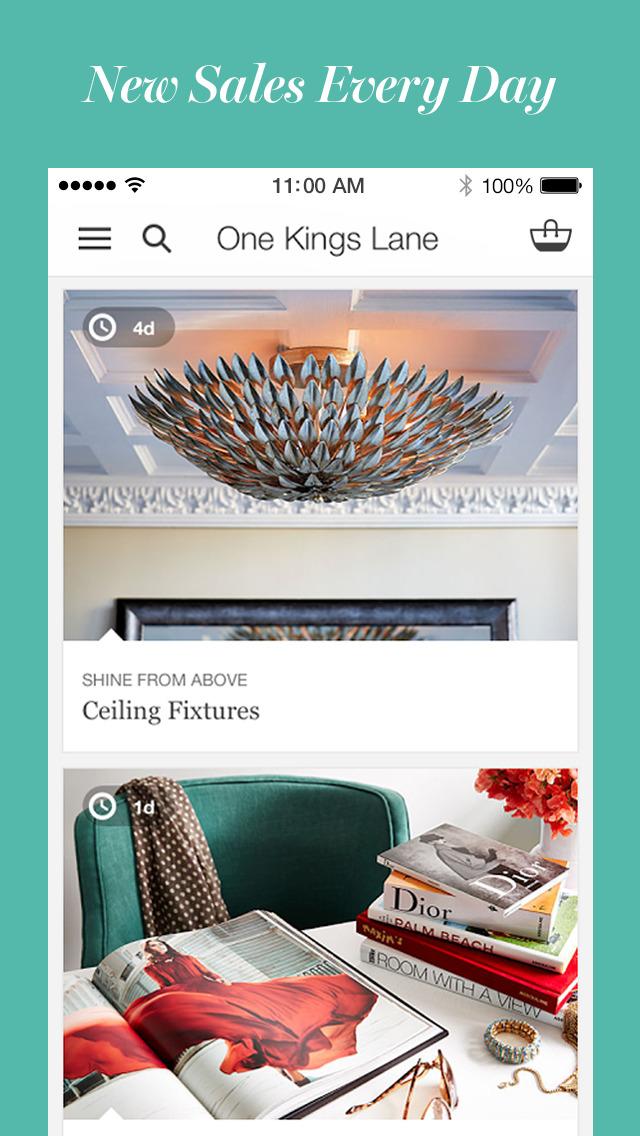 one kings lane home decor furniture amp design ios one kings lane vintage murano glass basket home decor store