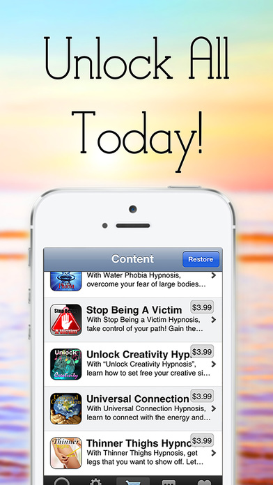 Stop Smoking with Self Hypnosis by Erick Brown iPhone Screenshot 4