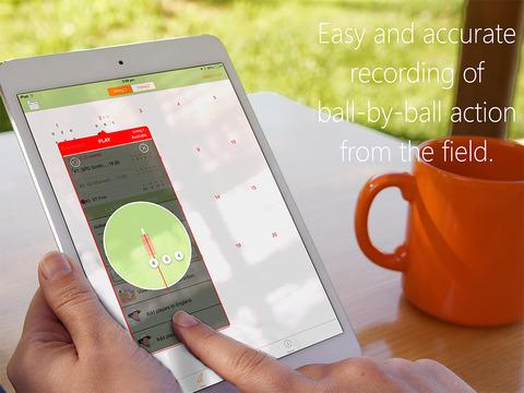 inningZ Cricket Scorer iPad Screenshot 5