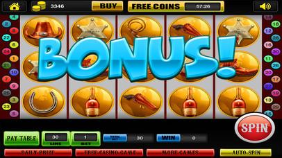 Screenshot 4 Шесть оружие Слоты в Западной Фортуны Благодаря казино Турниры Pro