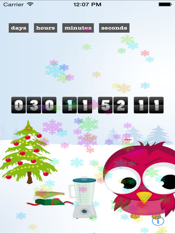 Christmas Countdown Extreme Edition - The Best Countdown App Santa Approved-ipad-3