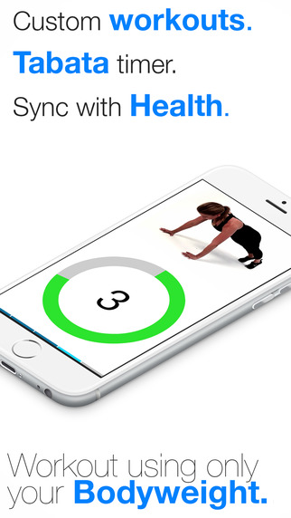 Virtual Trainer Bodyweight : Home Travel Fitness Workouts