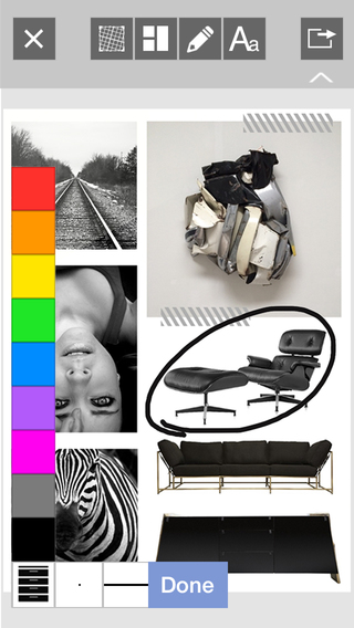 Morpholio Board: Layout Moodboards Whiteboards Design or Interior Ideas