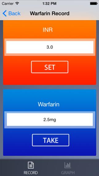 Warfarin Manager