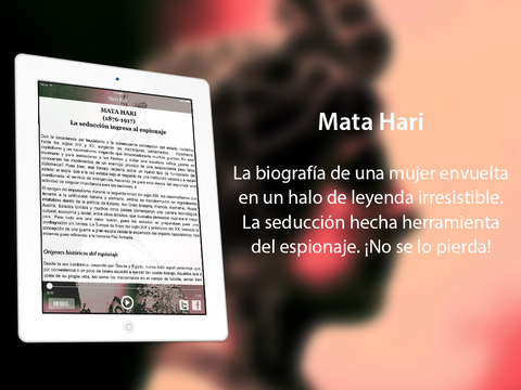 Audiolibro: Mata Hari iPad Screenshot 2