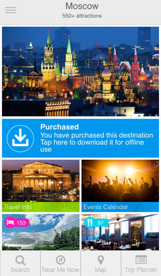 My Destination Moscow Guide