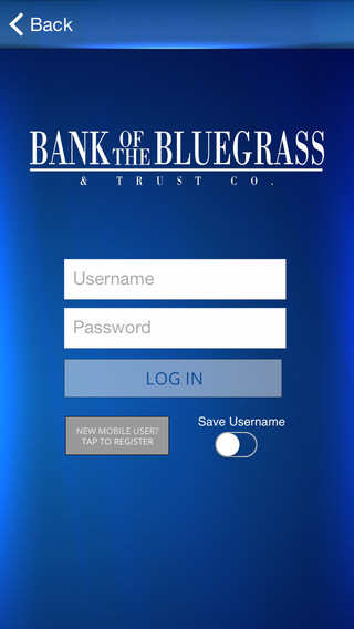 Bank of the Bluegrass Mobile Banking
