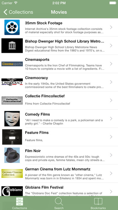 B-Movies iPhone Screenshot 2