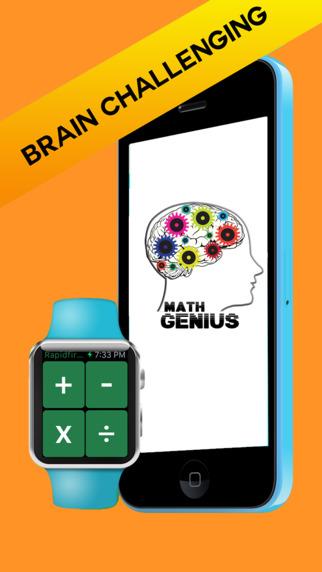 Math Genius Quiz