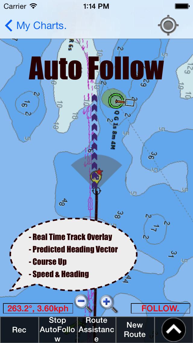 Marine navigation lake depth maps usa offline gps for Fishing gps apps