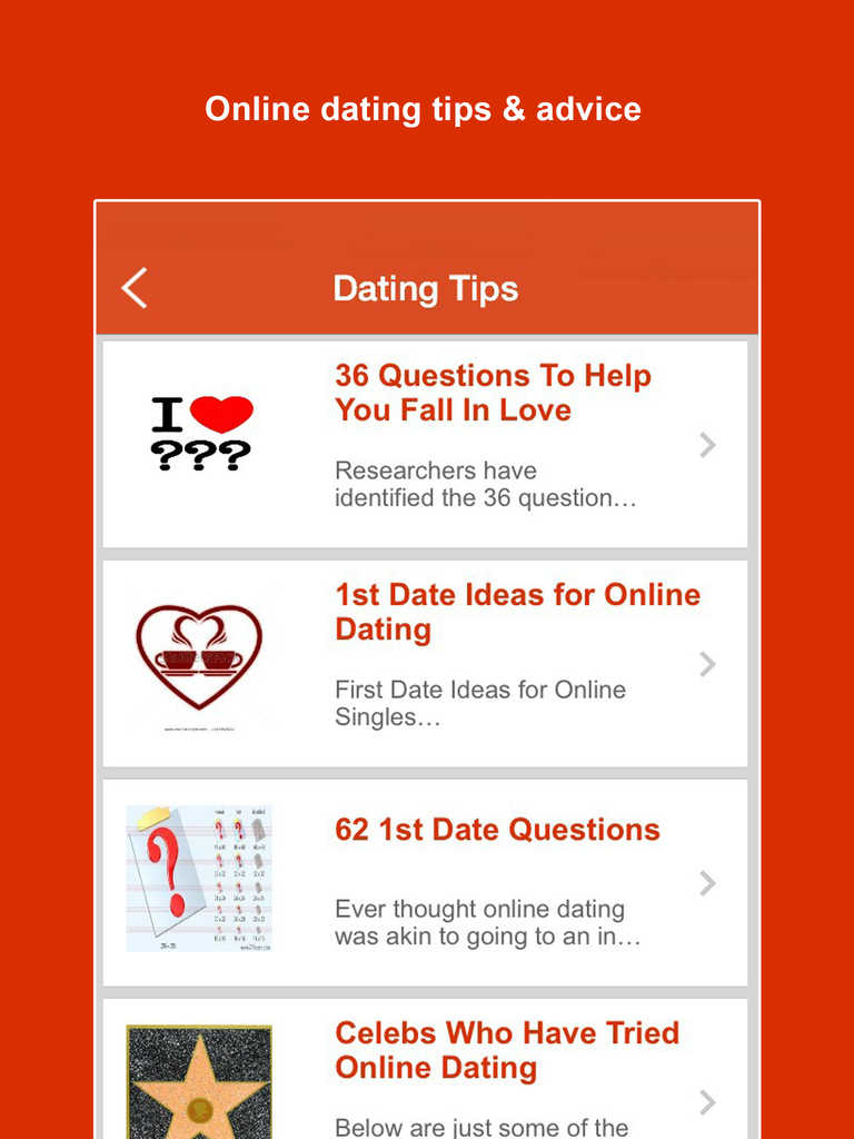 Top dating advice websites