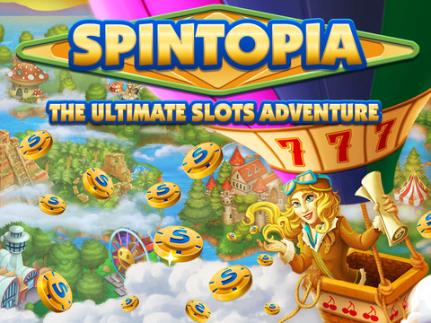 iPad Image of Spintopia 3D Slots
