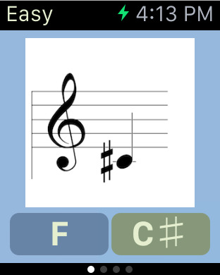 Sheet Music Treble Game iPhone Screenshot 7
