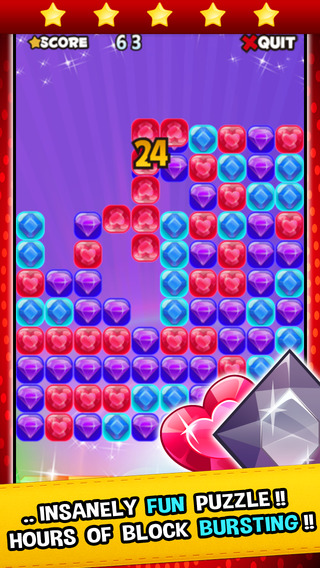 Jewel Match Mania - Matching splash diamond and gems puzzle games for free