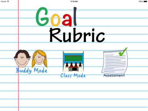 Goal Rubric
