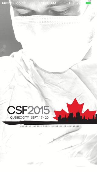 Canadian Surgery Forum