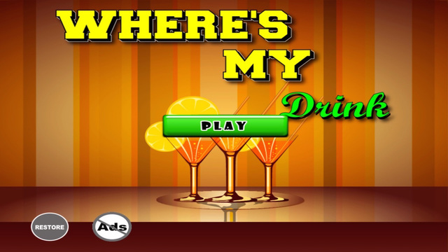 Where's My Drink - Water Beer or Wine Go Find Them