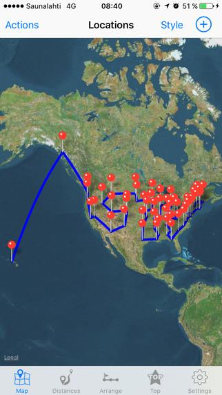 Via - Air route planner