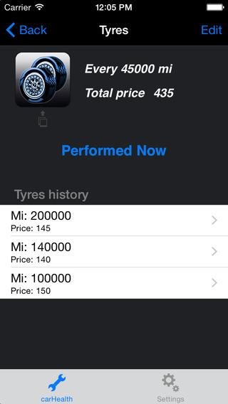 CarHealth - Car Maintenance iPhone Screenshot 4