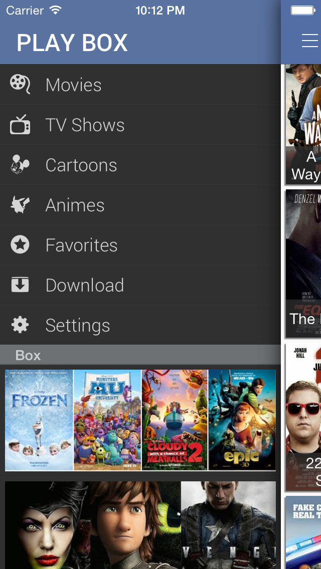 PlayBox HD screenshot 3