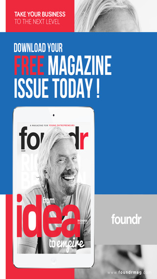 AA+ Foundr - A Young Entrepreneur Magazine for a Startup Company MBA Student Blogger or Small Busine