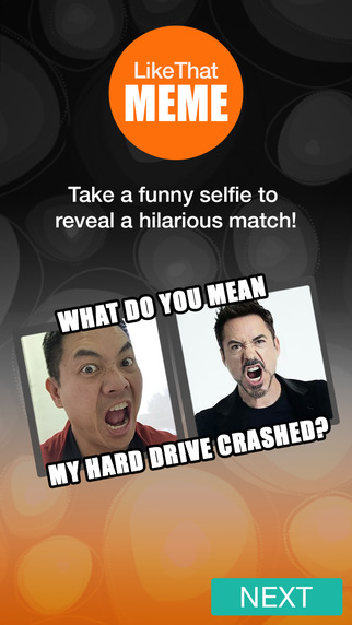 LikeThat Meme Generator - Silly Face Selfies Celebrities Animals