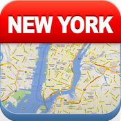New York Offline Map – City Metro Airport with Travel Trip Planner [iOS]