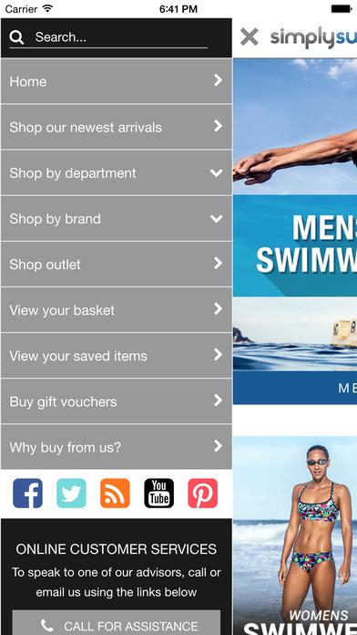Simply Swim iPhone Screenshot 2