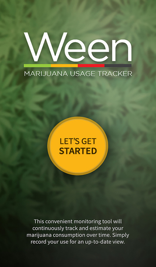 WEEN - Marijuana Usage Tracker