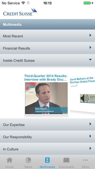 Investor Relations and Media by Credit Suisse