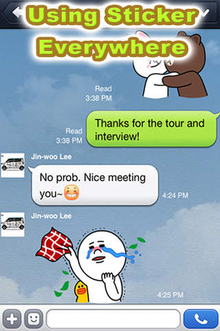 Stickers for Chat WhatsApp, Viber, Kakao Talk screenshot 2
