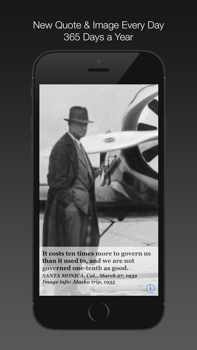 Will Rogers Daily Quotes iPhone Screenshot 4