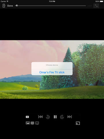 Rocket Fire Video Cast for Amazon TV: Best browser to streams movies using Fling Screenshots