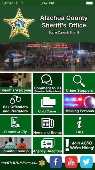 Alachua County FL Sheriff's Office