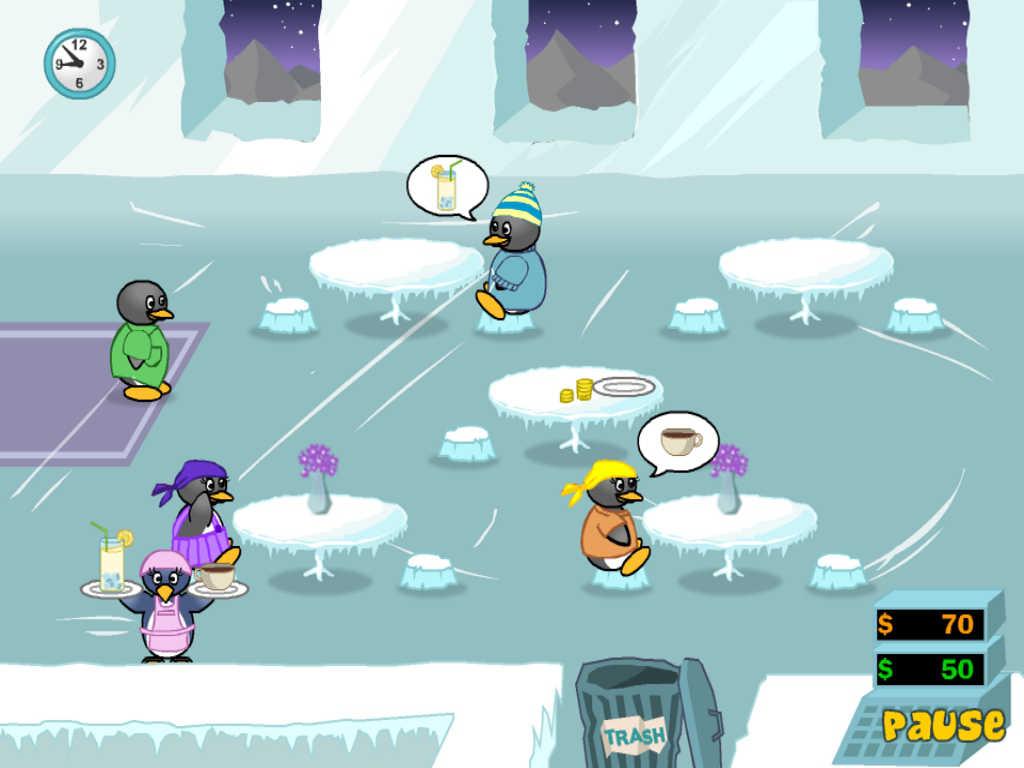 penguin diner game
