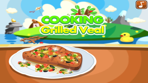 Cooking Grilled Veal