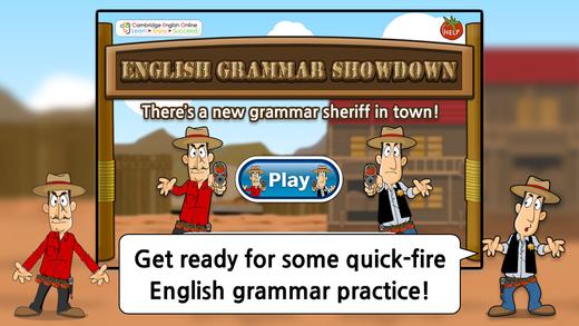 English Grammar Showdown