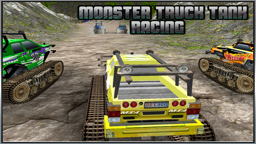 Monster Truck Tank Racing