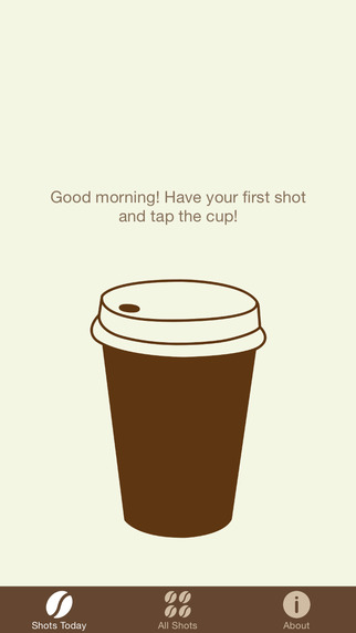 Coffee Shots - Keep Track of Your Daily Coffee Consumption to Improve Your Health