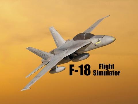 F18 Flight Simulator на iPad