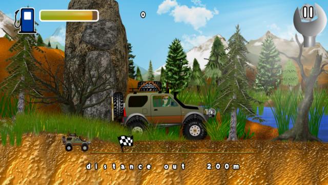 Car Sport Forest Car Adventure - Car Stunt Racing Lite