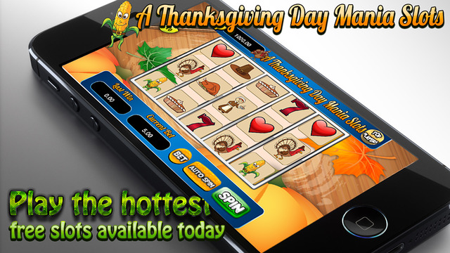 A Aace Thanksgiving Day Mania Slots