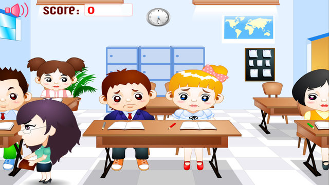 Classroom Kissing
